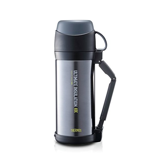 THERMOS (thermos) vacuum insulation stainless steel bottle cool gray 1L FFW-1000 (CGY) (japan import) by Thermos