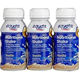 Equate Nutrition Shake Vanilla Six 8oz Bottles