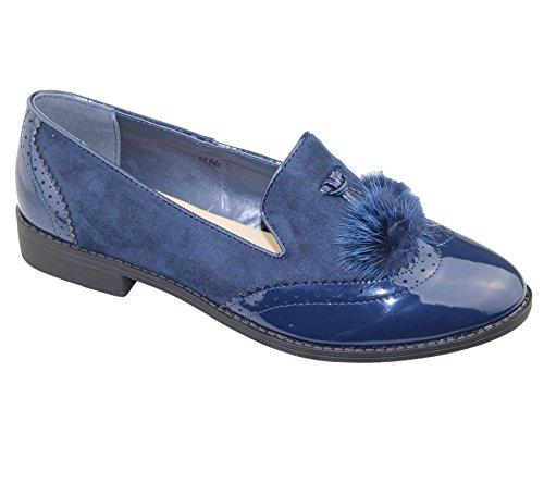 katt_brand - Mocasines para mujer Azul