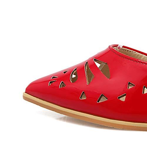 Red con AN Zeppa Donna Sandali DIU01215 rXAwXE