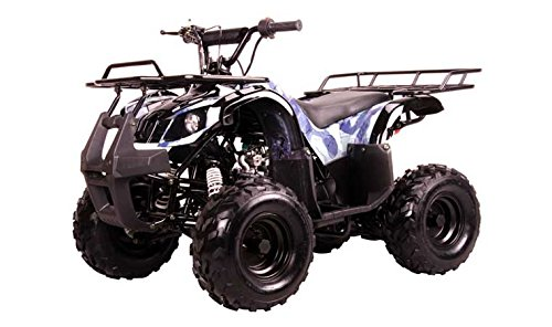 110cc ATV Kodiak Utility 4 Wheelers Mid Size Kids Youth Gas ATV Fully Automatic