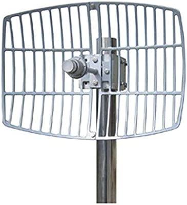 BeMatik - Antena parabólica de 5.5 GHz y 24 dBi: Amazon.es ...