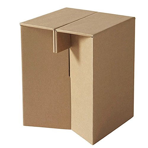 Taburete de carton reposapies Paper Maker pequeno con 120 kg de capacidad