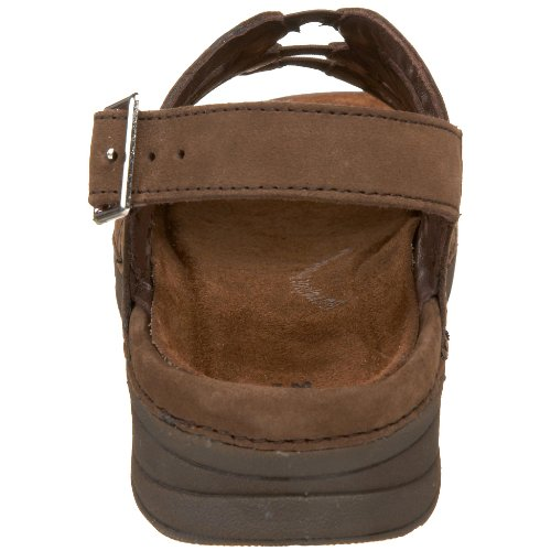 Drew Shoe Sandy Nubuck Women's Brown Sandal YpYqF1wxr