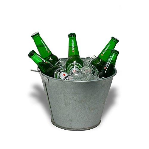6L enfriador de cesta de metal botella de cerveza con abridor de ...