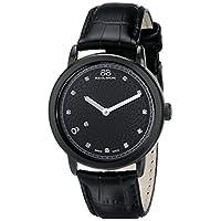 88 Rue du Rhone 87WA120022 Reloj de cuarzo suizo negro con pantalla analógica de 8 orígenes de 8.
