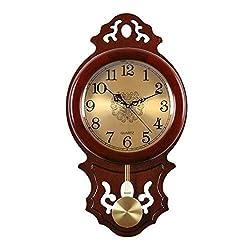 MGE UPS Systems Clock Wall Clock,Clock Wall Clock Clock Retro Silent Clock Quartz Decoration Classical Style Desk, Kitchen Living Room, Clock Home Decor