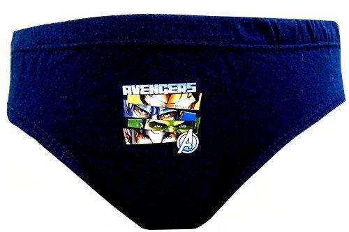 4d7b535197fd05 Marvel Avengers Faces Boys 6 pezzi Slip/mutande 2-3 mesi (98 cm