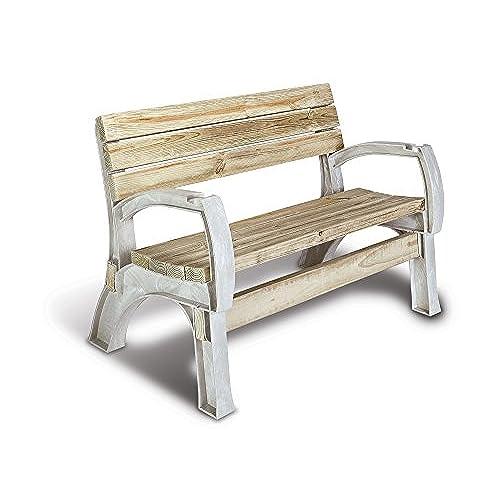 Hopkins 90134ONLMI 2x4basics AnySize Chair Or Bench Ends, Sand