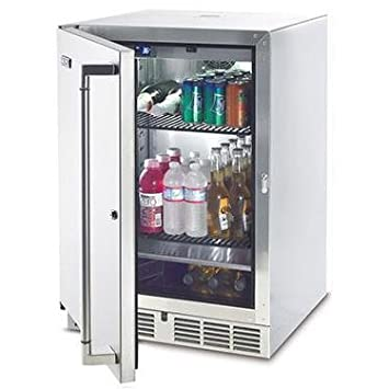 Marvelous Lynx L24BF 5.5 Cubic Feet Outdoor Refrigerator/Kegerator, 24 Inch,  Stainless Steel
