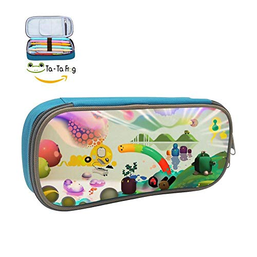 Dream Children Pencil Case Pen Bag Makeup Pouch Durable Students Cool Boys&Girls Stationery with Double Zipper -