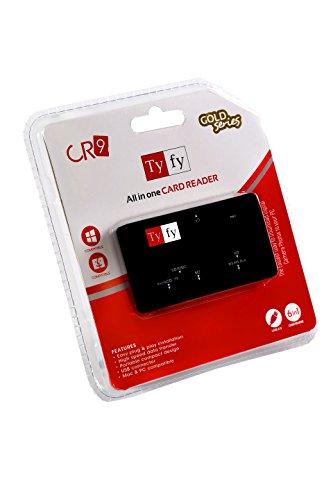TYFY CR9 Card Reader  BLACK