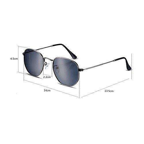 7b01f81b7d De estilo europeo y americano,gafas de sol para hombres Ronda Full Frame  gafas de