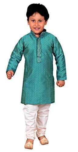 Desi Sarees Niños India Sherwani Kurta Churidar Pijama Bollywood Boda  Fiesta Ropa 901 (12 años 19d1eacb888