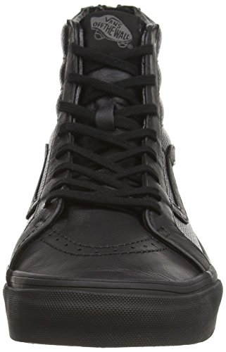 Hi Vans Leather Unisex Sk8 Slim Perf Black Zip White True 5 Sneaker 7 Black 6nxnIrwfA