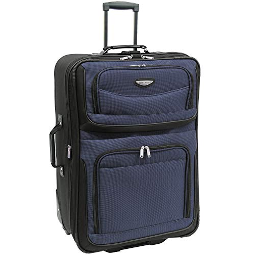 Traveler's Choice Checked-Large, Navy