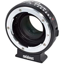 Metabones Nikon G Lens to Blackmagic 2.5k Cinema Camera with Micro 4/3 Speed Booster, Matte-Black