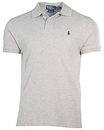 Polo Ralph Lauren Men Custom Fit Mesh Polo Shirt