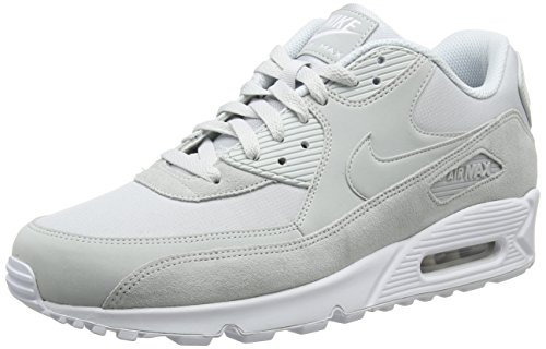 Nike Air Max 90 Essential Mens Trainers Grey (Pure Platinum/White/Pure Platinum 002)