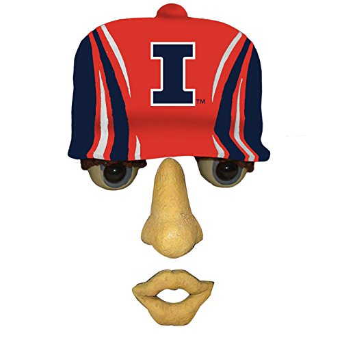 University of Illinois Logo Resin Tree Face