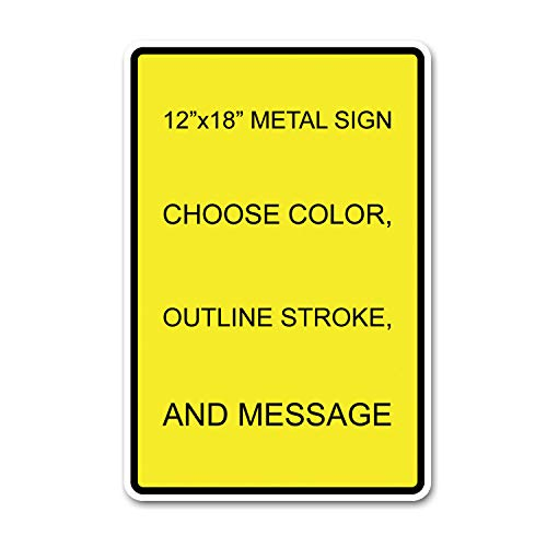 Custom Metal Sign 12