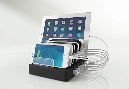Sharper Image 8 Device Quick Charging Station
