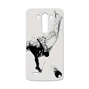 Creative Football Graffiti Custom Protective Hard Phone Cae For LG G3