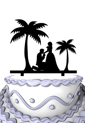 4152r7Dh1EL The Best Palm Tree Wedding Cake Toppers