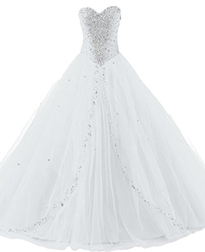 JAEDEN Wedding Sweetheart Long Quinceanera Dresses Formal...