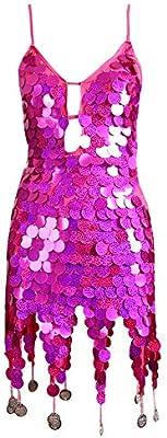 Lentejuelas de escamas de pez Disfraces de baile moderno Faldas de ...