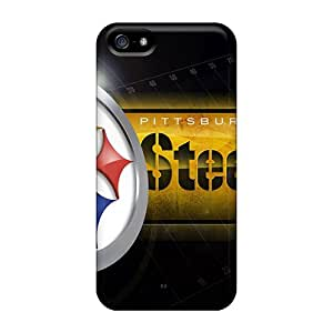 Shock Absorbent Hard Cell-phone Case For Iphone 5/5s (LDy18101wTLH) Custom Stylish Pittsburgh Steelers Image