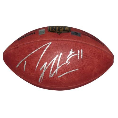 Percy Harvin Autographed NFL (Duke) Game Football - Harvin (Autographed Nfl Duke Game Football)