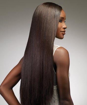 Goddess Original Remi Human Hair Weave - Yaki Weaving (14 inch, 1B - Off Black) ()