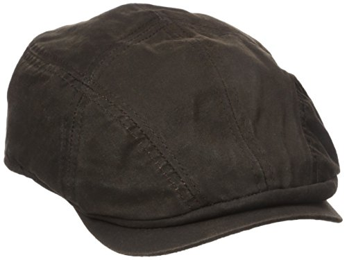 red Cotton Ivy Cap, Brown, X-Large (Dorfman Pacific Hat Company)
