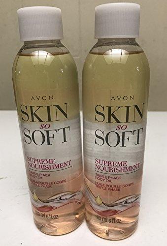 Avon Skin So Soft Supreme Nourishment Triple Phase Oil Lot (Avon Use Skin So Soft)