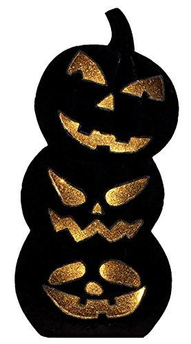 Sunset Vista Designs Stacked Pumpkins Halloween Decoration -