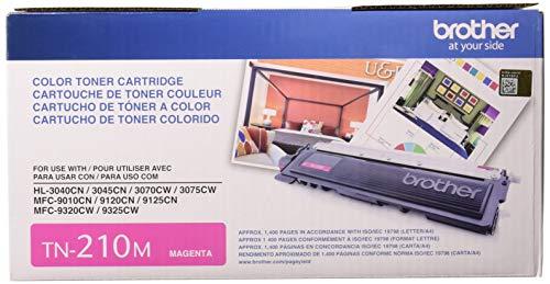 Brother Genuine TN210M Color Laser Magenta Toner Cartridge