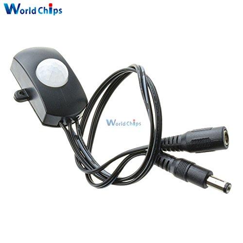 DC5-24V 5A Human Sensor Module Body Sensor Module LED Strip Automatic MINI PIR Infrared Motion Sensor Detector Switch