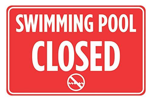 CELYCASY - Cartel de reglas de natación para piscina, diseño ...