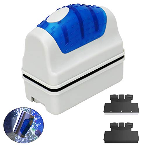 Jasonwell Magnetic Aquarium Fish Tank Glass Algae Glass Cleaner Scrubber Floating Clean -
