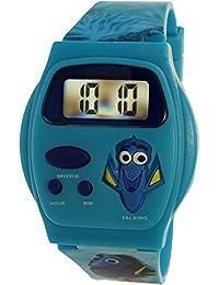 Disney Girl's Finding Dory FDKD16056 Blue Plastic Quartz Fashion Watch