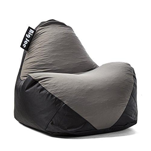 Big Joe 1180285 Warp Bean Bag Black/Dark Grey