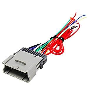 4152vSB9J4L._SY300_ amazon com replacement radio wiring harness for 2004 hyundai 2004 hyundai santa fe speaker wiring harness at bakdesigns.co