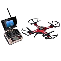 Original JJRC H8D 5.8G RC FPV Quadcopter Headless Mode/One Key Return RTF Drone with 2.0MP Camera FPV Monitor LCD by China