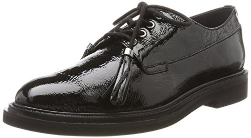 Kenneth Cole Annie, Scarpe Stringate Derby Donna Nero (Black)