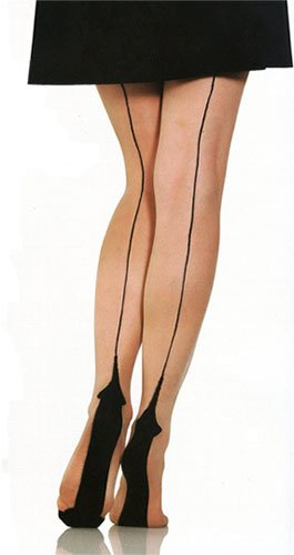 Foot-Traffic-Plus-Size-Natural-Nude-Cuban-Heel-Fashion-Hosiery