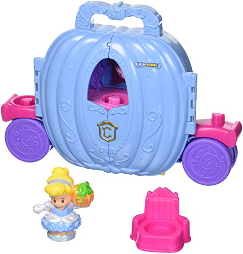 Fisher-Price Little People Disney Princess, Cinderella's Carriage (Carriage Cinderella Disney)