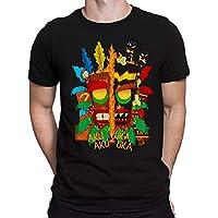 Camiseta Aku Aku vs Uka Uka Crash - Games - Masculina