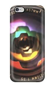 iphone 6 4.7 Zoom Lens Closeup Print High Quality Tpu Gel Frame Case Cover