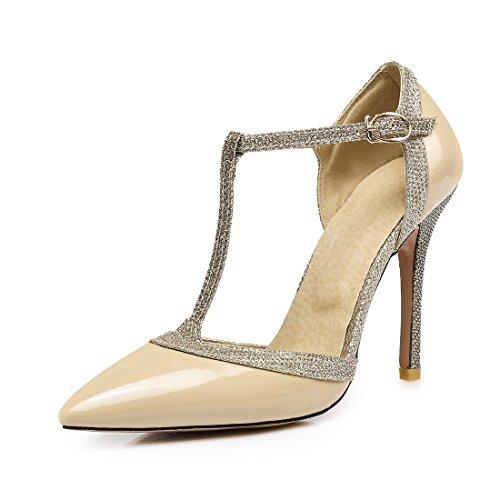 tacco signore sandali sandali sexy i sandali di ha colore sandali hollow i nuda fibbie sandali trentaquattro alto r00E7v